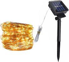 Solar Copper Lamp String Christmas LED Decorative