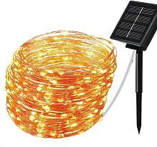 Solar Copper String Lights Copper String Lights