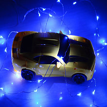 Solar Copper Wire String Lights Holiday Decoration
