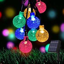 Solar Fairy Lights 50 LED 24 ft, Solar Outdoor