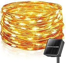 Solar Fairy Lights Outdoor, 85FT/26M 240LED Solar