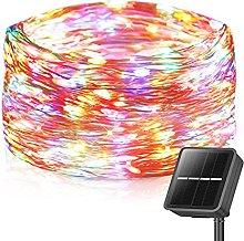 Solar Fairy Lights Outdoor, 86FT 240LED Solar