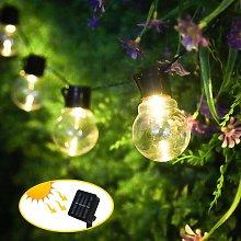 Solar Fairy Lights Outdoor Christmas Light Bulbs