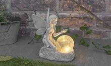 Solar Fairy Ornament Statue: One