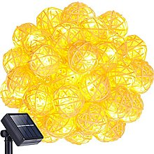 Solar Fairy String Lights,KINGCOO 20FT 30LED Globe