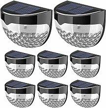 Solar Fence Garden Lights, Decorative Lights LED