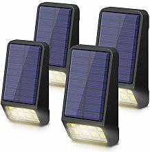 Solar Fence Lights, LOHAS Solar Security Lights