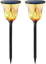Solar Flame Lights Garden Lights Solar Powered 96
