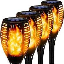 Solar Flame Torch,Light Flickering Waterproof