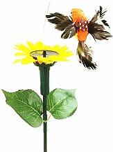 Solar Fluttering Butterfly, Dual Power Fluttering