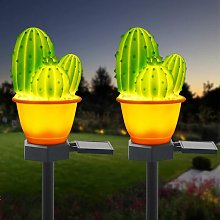 Solar Garden Decorative Lights Outdoor,2 Pack