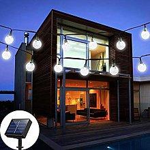 Solar Garden Lights, 60 LED Outdoor String Lights