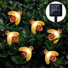 Solar Garden Lights, Cshare 50 LED Honeybee Fairy