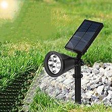 Solar Grow Light Outdoor Solar Spotlight 16 LED