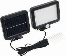 Solar Lamp with Motion Sensor LED Lights White -