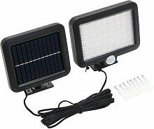 Solar Lamp with Motion Sensor LED Lights White