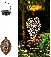 Solar Lantern Outdoor Garden, IP44 Waterproof