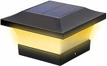 Solar LED Post Lights Outdoor Garden Waterproof