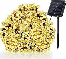 Solar LED String Fairy Lights 200 LED 8 Modes 72ft