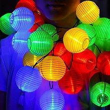 Solar LED String Lights Lanterns 20LED Outdoor