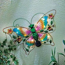 Solar Light-Up Butterfly by Coopers of Stortford