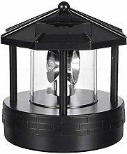 Solar Lighthouse, Solar Decorative Lighthouse, 360
