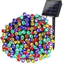 Solar Lights Halloween Outdoor Decor 72ft 200 LED