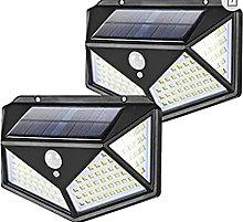 Solar Lights Outdoor, 100LED Solar Motion Sensor