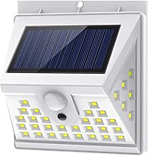 Solar Lights Outdoor [40 LED/3 Working Mode],