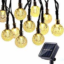 Solar Lights Outdoor Garden 50 LED 7M Waterproof
