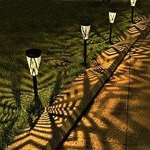 Solar Lights Outdoor Garden Stake Metall Solar