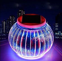Solar Mosaic Glass Ball Garden Lights,KINGCOO