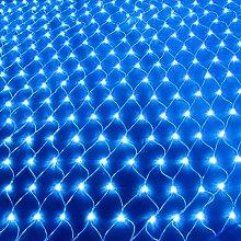 Solar Net String Lights, 120Led Backyard Patio Net