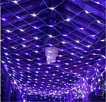 Solar Net String Lights, 200Led Backyard Patio Net
