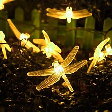 Solar Outdoor Dragonfly Lights,KINGCOO Waterproof