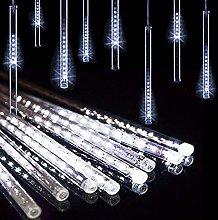 Solar Outdoor String Lights, 30cm 10 Tubes 360LEDs