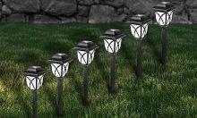 Solar Pathway Lanterns: 12