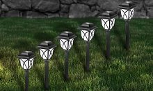 Solar Pathway Lanterns: 6