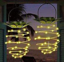 Solar Pineapple Light, Outdoor Waterproof Garden