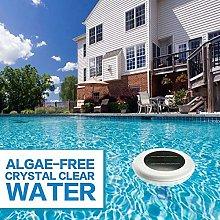 Solar Pool Ionizer, Solar Powered Purifier Water