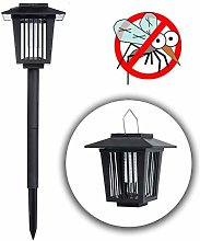 Solar Power Insect Killer LED Lamp - Mosquito Fly