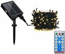 Solar Power Remote Control Waterproof Outdoor