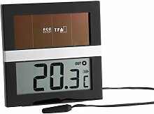 Solar Powered Digital Thermometer Symple Stuff