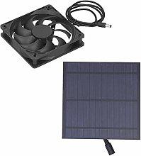 Solar Powered Fan, Portable Ventilation Equipment