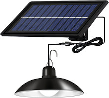 Solar Powered LEDs Ceiling Light Dimmable Shed