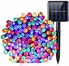 Solar Powered String Lights 66ft 200 LEDs Twinkle