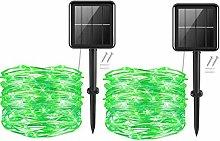 Solar Powered String Lights,Cshare 50LEDs 16Ft/5m