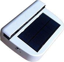 Solar Powered Ventilator Fan Car House Window