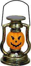 Solar Pumpkin Lamp, Portable Halloween Lanterns,