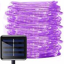 Solar Rope Lights,DINOWIN 100 LEDs 39ft/12M